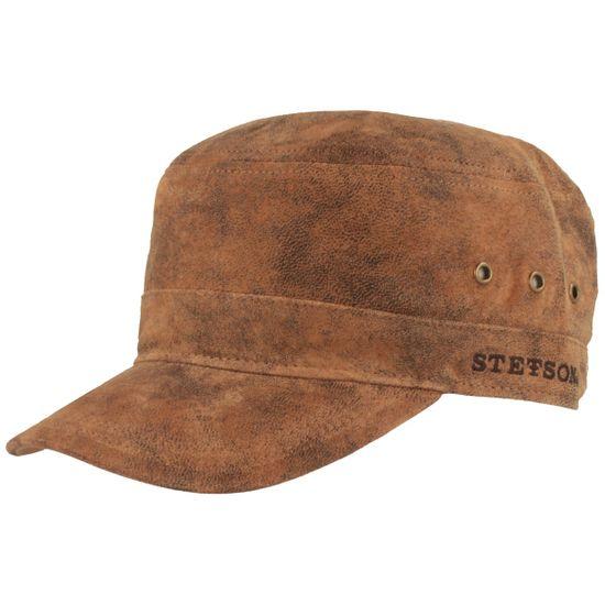 Stetson Army Cap aus Leder