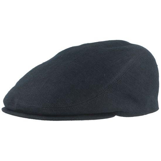 Bullani H-Mütze-Einteilig Mütze blau kariert aus