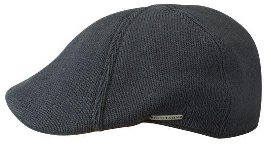 Stetson 6-teilige Flatcap aus Baumwolle