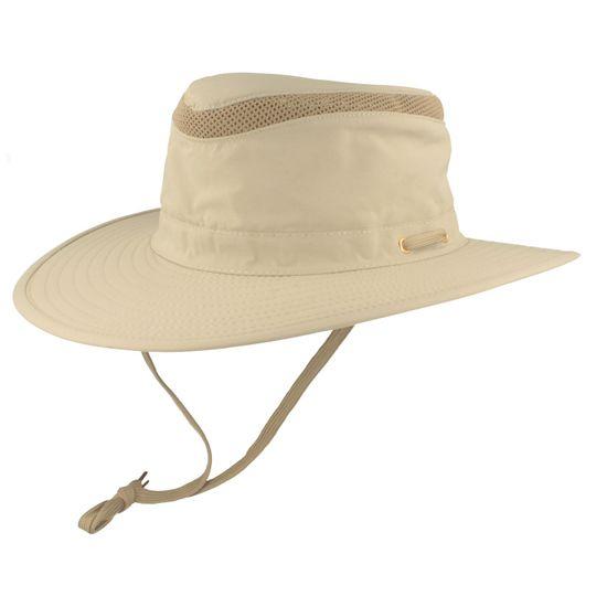 Hut-Breiter Explorer mit Kinnband und UV-Schutz 30+