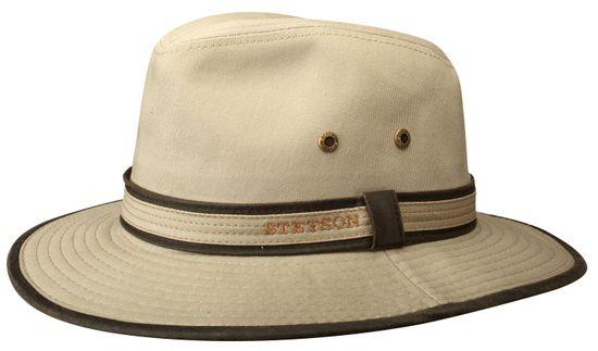 Stetson Stoffhut aus Baumwolle mit UV-Schutz 40+