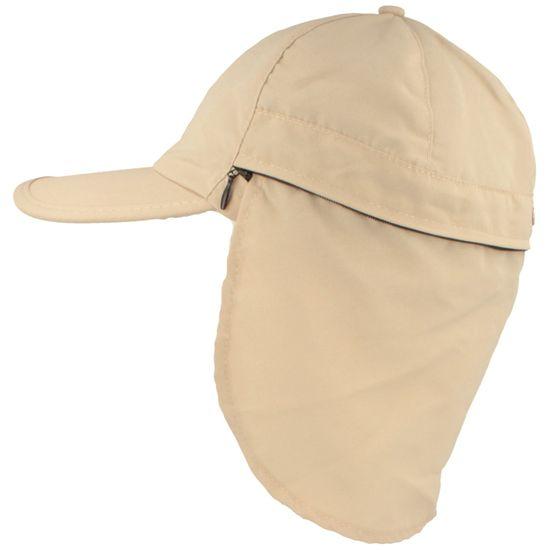Balke Baseball-Cap mit verstaubarem Nackenschutz und UV-Schutz 40+