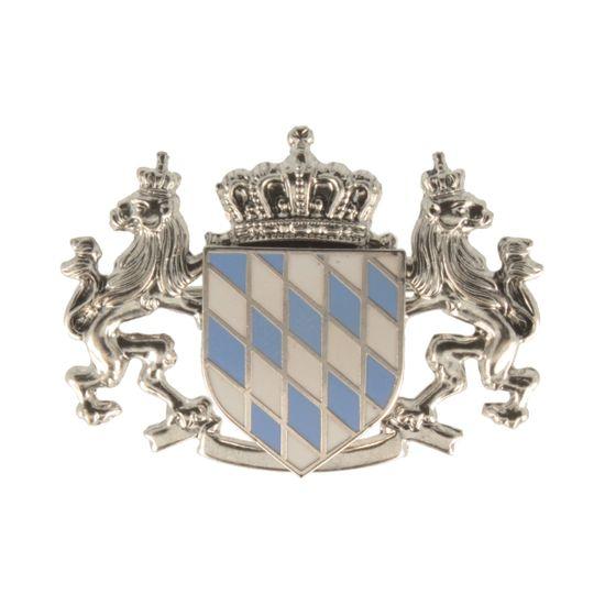 Hut-Breiter Hutanstecker eingerahmte bayerische Flagge