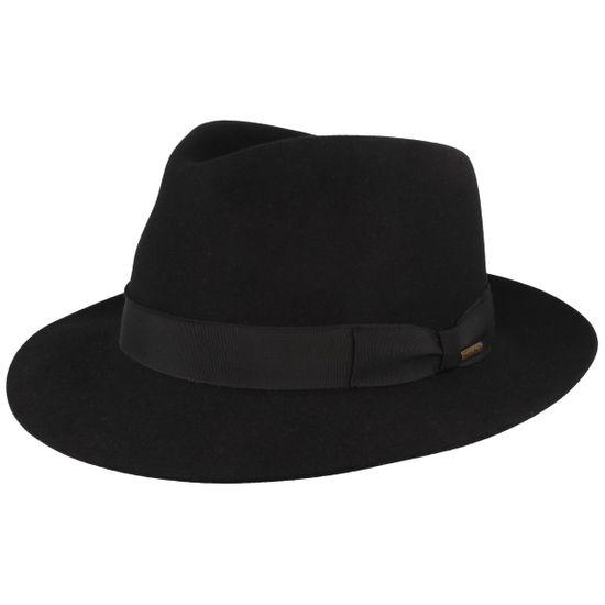 Stetson Bogart Hut mit Ripsband-Garnitur