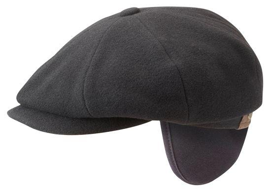 Stetson Schiebermütze Hatteras aus Wolle mit Ohrenschutz