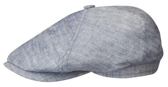 Stetson Schiebermütze 6-Panel Linen mit UV-Schutz 40+