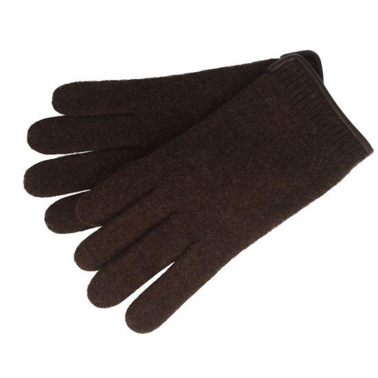Peter Rutz Strick-Handschuhe aus Wolle