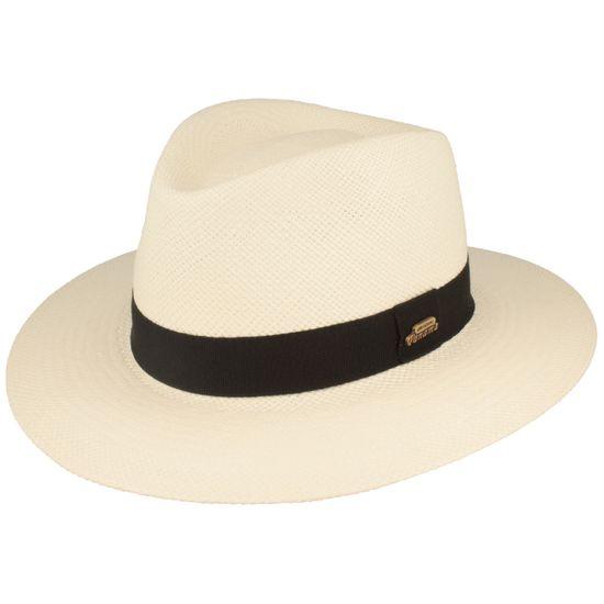 Hut-Breiter bunter original Panama Hut Strohhut mit Ripsband-Garnitur und UV-Schutz 50+