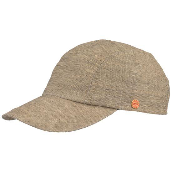 Mayser feine Baseball-Cap aus Leinen und Baumwolle mit UV-Schutz 80
