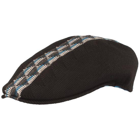 Kangol Flatcap leichte Schirmmütze Argyle Stripe im Webmuster