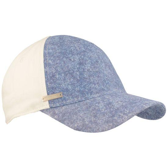 Seeberger zweifarbige Damen Baseball-Cap mit Klettverschluss