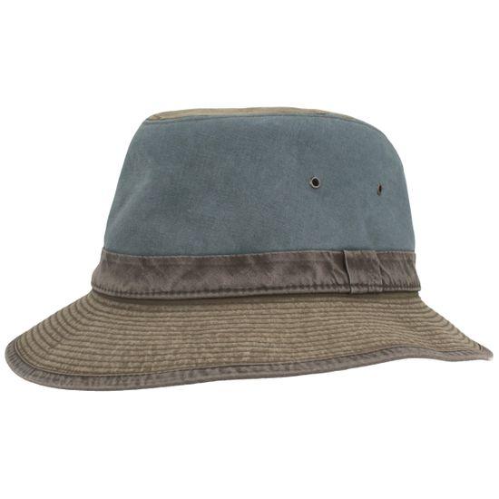 Hut-Breiter leichter Flapper Safari Hut Fischerhut Freizeit Hut aus reiner Baumwolle mit UV-Schutz 80