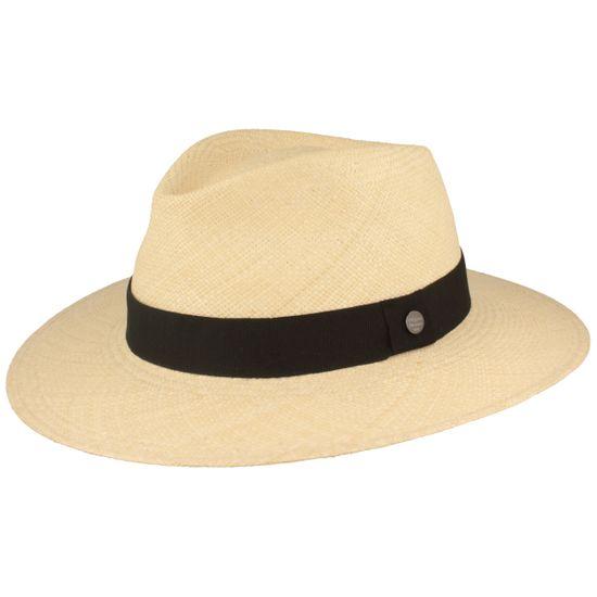 Hut-Breiter handgeflochtener Original Panama Traveller mit UV-Schutz 50+ und Ripsband
