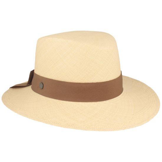 Hut-Breiter feiner Original Damen Panamahut mit modischer Schleife hinten