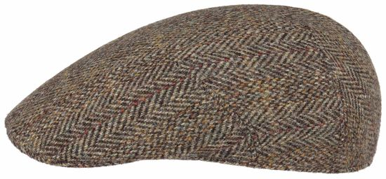 Stetson handgemachte Harris Tweed Schiebermütze made in Germany