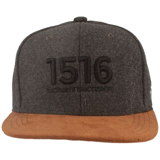 Bavarian Caps Flat Brim Snapback Baseball-Cap mit 1516-Stickerei
