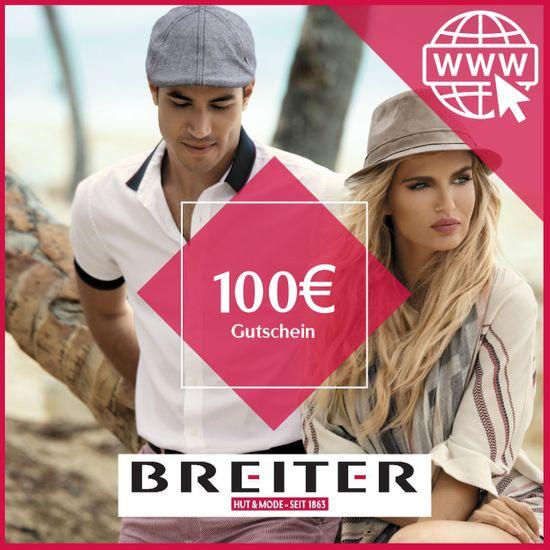 Hut Breiter Online Gutschein 100 €