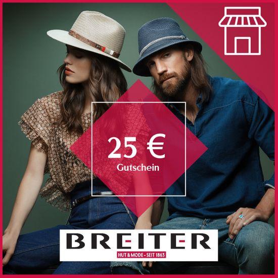 Hut Breiter Filialen Gutschein 25 €