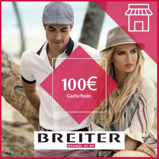 Hut Breiter Filialen Gutschein 100 €