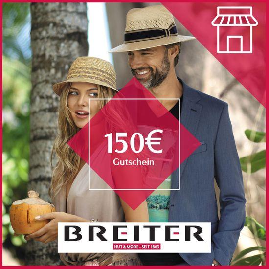 Hut Breiter Filiale Gutschein 150 €