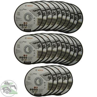 BOSCH 25x Trennscheibe Inox Rapido 125 mm AS 60 T f. Flex Makita GWS 850 1000
