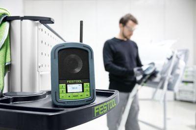 Festool Baustellenradio SYSROCK BR 10 200183 Radio Bluetooth Freisprechfunktion – Bild 9