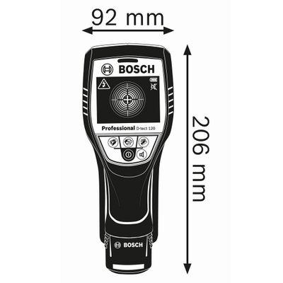 Bosch Ortungsgerät Wallscanner D-tect 120 Detektor + 2,0 Ah Li-Ion Akku L-Boxx – Bild 2
