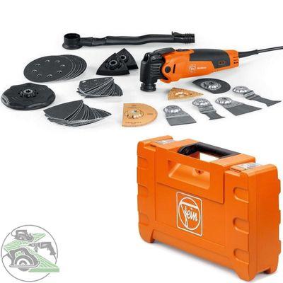 Fein Multimaster Top FMM 350 QSL Koffer Sägeset Multifunktionswerkzeug Starlock