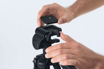 Bosch Baustativ BT 150 Professional Kurbelstativ Fotostativ standfest 0601096B00 – Bild 3