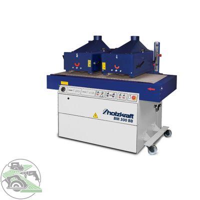 Holzkraft Bürstmaschine Strukturiermaschine BM 300 BB mit Bürsten und Zubehör