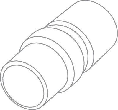 Festool Anschlussmuffe Antistatik D 36 DM-AS 487721 Zubehör Staubsauger – Bild 2