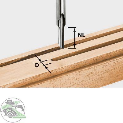 Festool Nutfräser HS S8 D 3/8 OF1010 OF1400 OF2200 490941 Zubehör Fräsen – Bild 1