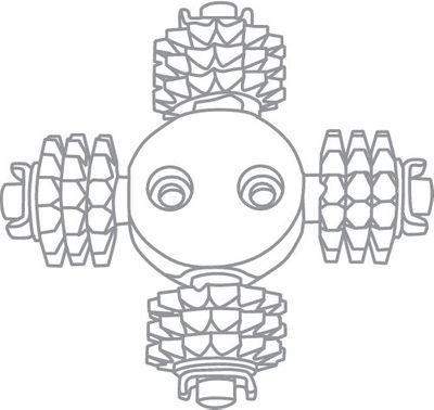 Festool Werkzeugkopf SZ-RG 80 767982 Fräsräder für harten Putz – Bild 3