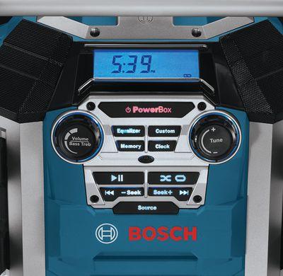 Bosch Radiolader GML 50 Professional 0601429600 Baustellenradio Ladefunktion – Bild 3