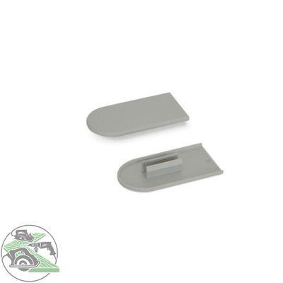 Lamello Cabineo Abdeckkappen Kunststoff Mausgrau RAL 7005 100 Stück 186350A – Bild 1