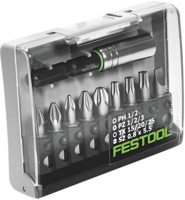 Festool Bitsortimient Bit Box Plus Magnetbithalter BH 60CE 10teilig PH PZ 493262 – Bild 2
