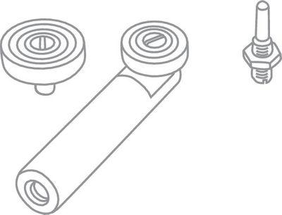 Festool Kopiertast-Set KT-OF 486534 Oberfräse Fräse – Bild 2