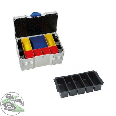 Tanos MINI Systainer T-Loc III Boxeneinsatz 5-fach lichtgrau 80590832 Koffer Box