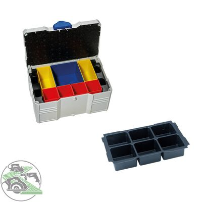 Tanos MINI Systainer T-Loc III Boxeneinsatz 6-fach lichtgrau 80590834 Koffer Box