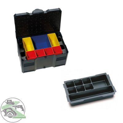 Tanos MINI Systainer T-Loc III Boxeneinsatz 8-fach anthrazit 80590837 Koffer Box