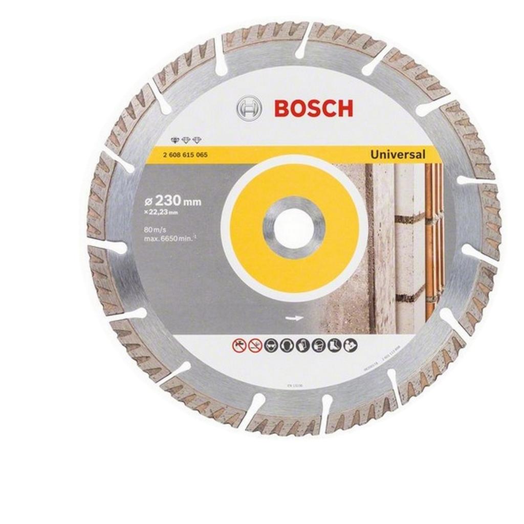 bosch diamant trennscheibe standard for universal 230 mm dia winkelschleifer ebay. Black Bedroom Furniture Sets. Home Design Ideas