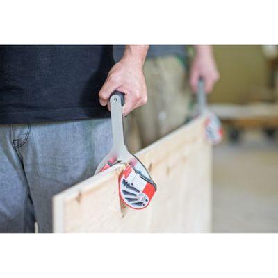 Schwaiger UNI-Plattenträger 0 - 44 mm Massivholzplatten 2 Stück Plattenheber – Bild 2