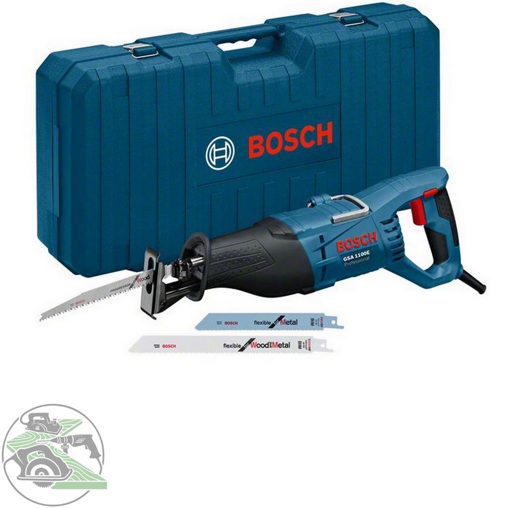 bosch säbelsäge gsa 1100 e im koffer sägeblatt holz metall 0.601.64c.800