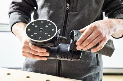 Festool Schleifer Akku-Exzenterschleifer ETSC 125 Li 3,1-Plus 18 V 576899 – Bild 5