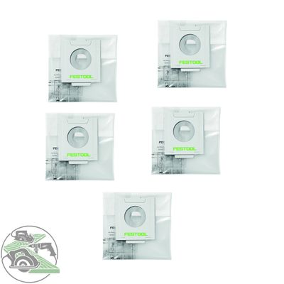 Festool Entsorgungssack ENS-CT 26 AC/5 5 St 496216 Absaugmobil Cleantec CT 26 AC – Bild 1