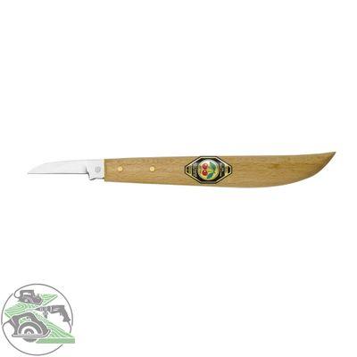 Kirschen Kerbschnitmesser mit rundem Rücken, gerader Schneide Nr. 3358000