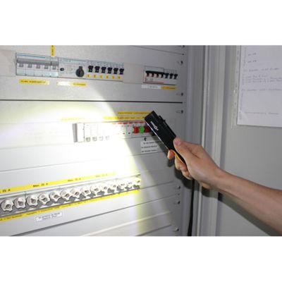 Förch LED-Akku-Inspektionslampe Ladegerät Handschlaufe Leuchte Arbeitslampe – Bild 4