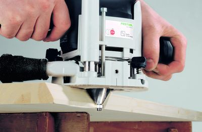 Festool Oberfräse OF 1010 EBQ-Plus Box-OF-S8/10xHW Systainer Sys 3 574383 – Bild 2
