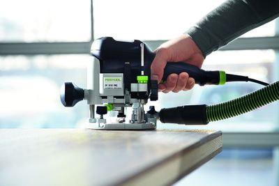 Festool Oberfräse OF 1010 EBQ-Plus Box-OF-S8/10xHW Systainer Sys 3 574383 – Bild 3