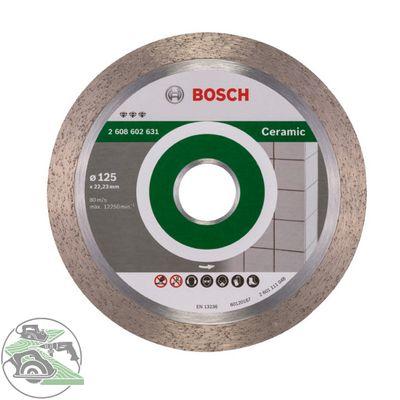 Bosch DIA Diamant-Trennscheibe Best for Ceramic 125 x 22,23 x 1,8 mm 2608602631 – Bild 1